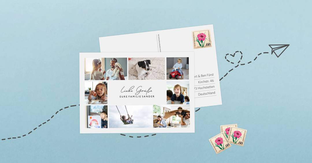 Postkarte Online Verschicken Vergleich