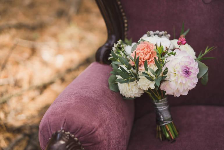 Hochzeits-Trend Velvet Samt